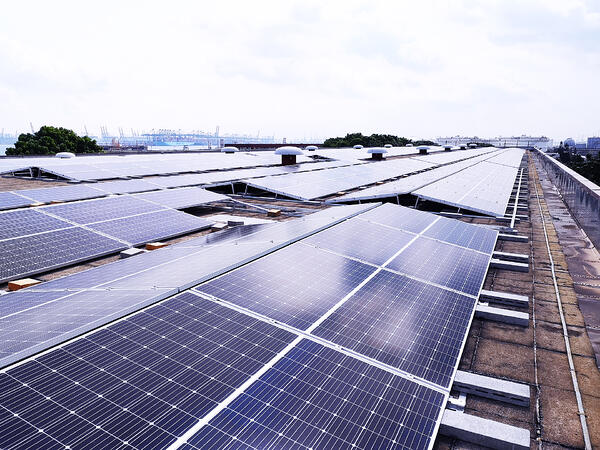 Solar farms like this one at YTL PowerSeraya's Jurong Island power plant is evidence Singapore sees a bright future with photovoltaics.