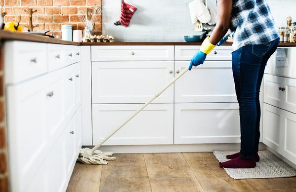 Clean your apartment first