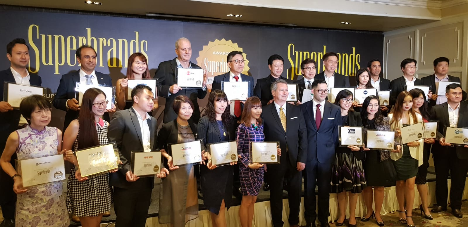 Winner of Superbrands Award since 2010